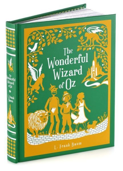 The wonderful wizard of oz barnes amp noble leatherbound classics