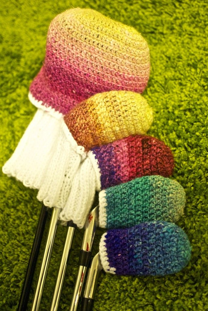 Crochet Golf Club Covers Crochet/Knit That Can Inspire Into Crochet ...