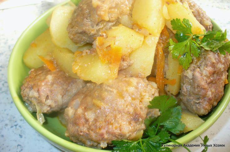 Голубцы и картошка