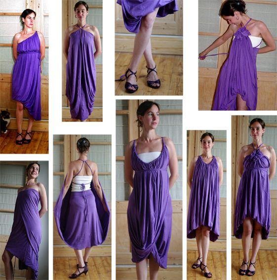 Платье трансформер сшить своими руками фото