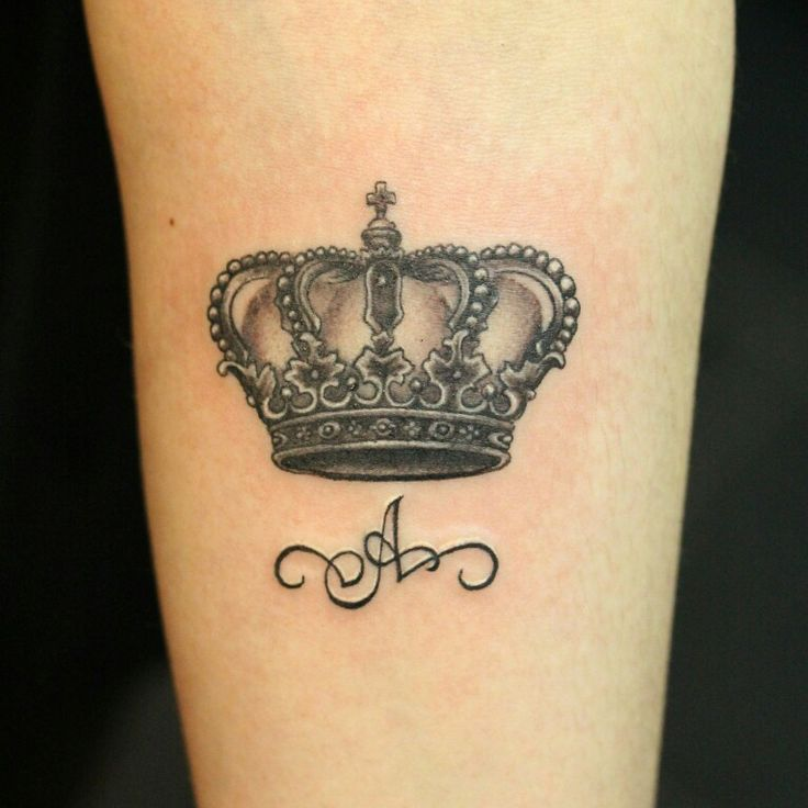 Тату красивые короны