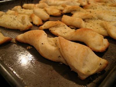 Semi-Homemade Breadsticks - 1 point