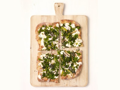 White Pizza With Broccolini | Pizza Party! | Pinterest