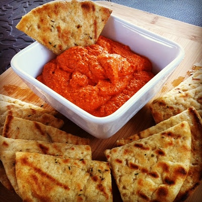 Roasted Red Pepper and Walnut Spread from No Ideas