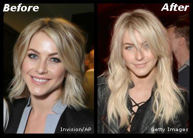 Julianne Hough | Celebrity Before and After Photos | Pinterest