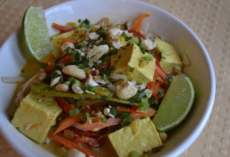 Coconut Curry Noodle Soup | Recipes | Pinterest