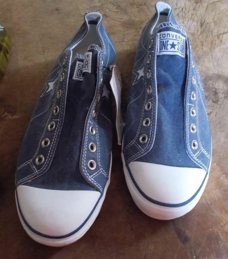converse mens size 13 one sneaker tennis shoe gray no