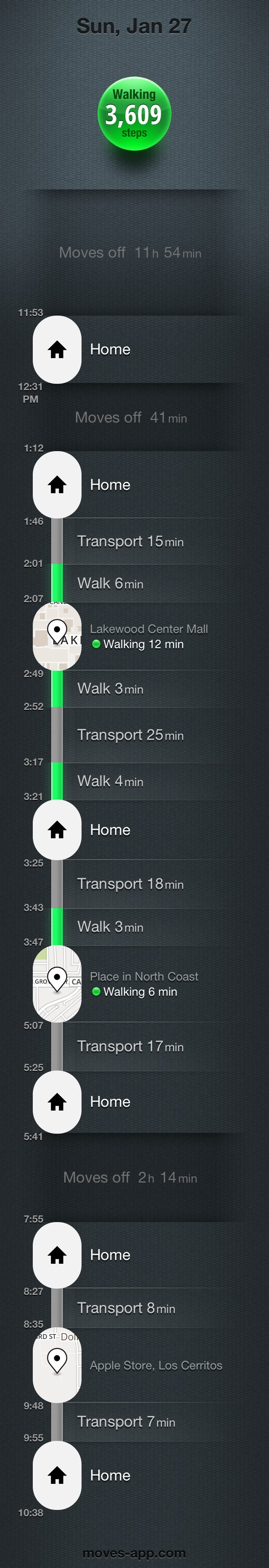 best walk tracking app for iphone