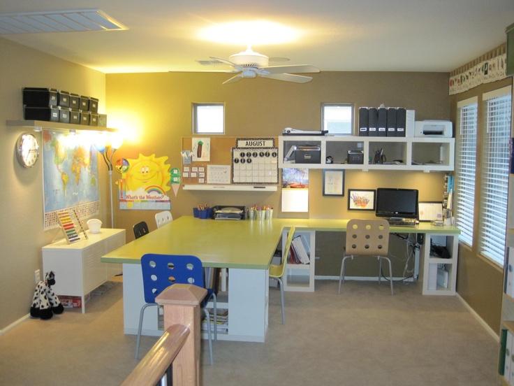 Homework Room Home Design Furnishings Pinterest
