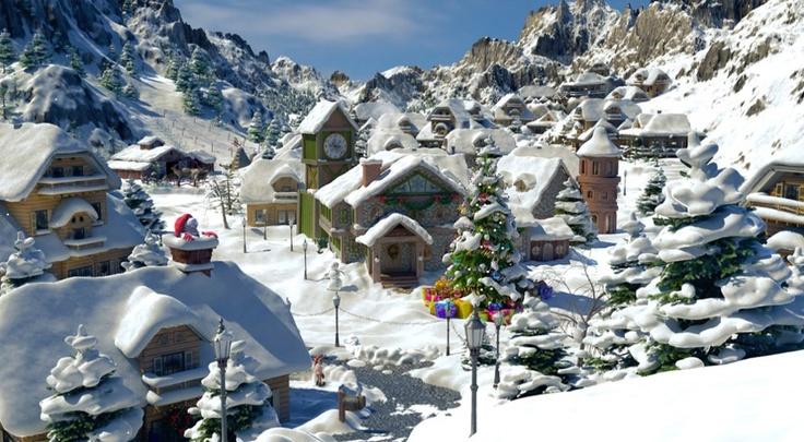 Santa's Workshop - North Pole | holidays | Pinterest
