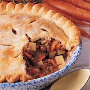 Tasty Meat Pie.....made this before and it is delicious! Can freeze ...