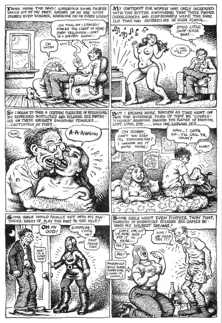R Crumb Delivers Comic Relief to a BeautyObsessed Society