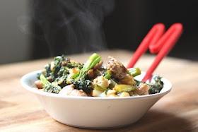 Spicy Chicken and Broccolini Stir Fry - yum