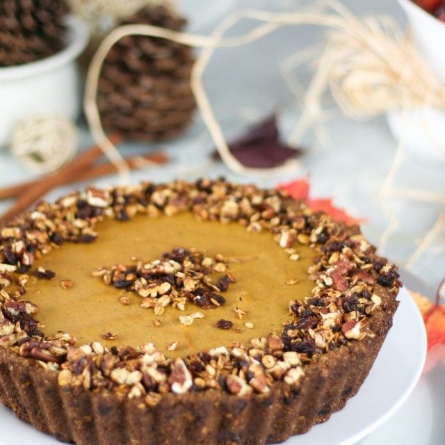 ... yet Unbelievably Healthy Pumpkin Pie | by Sonia! The Healthy Foodie