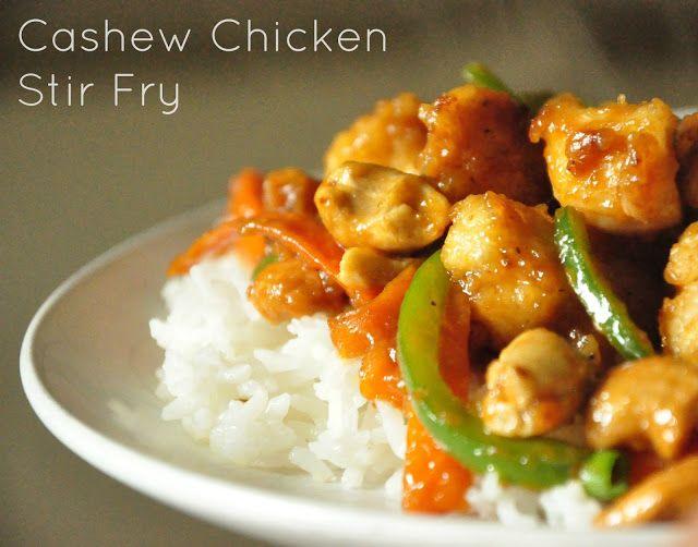 Annadotes: Cashew Chicken Stir Fry | Food | Pinterest