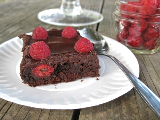 Craft, Bake, Sew, Create: Raspberry Truffle Brownies