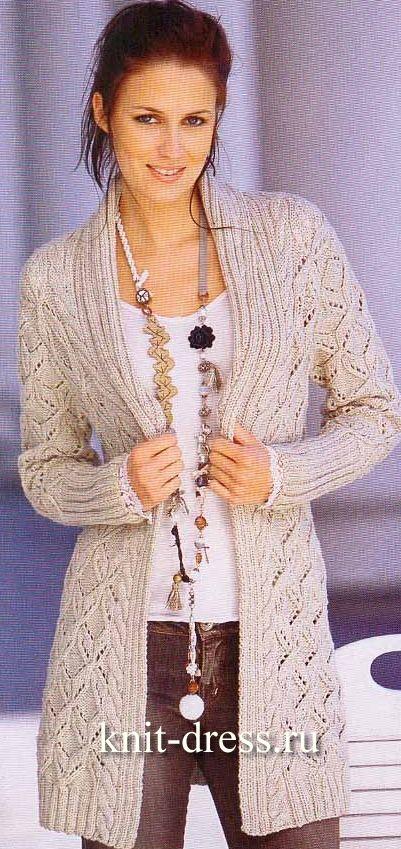 Вязание для женщин кофт кардиганов 51