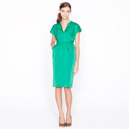 Collection duchesse satin dolman dress