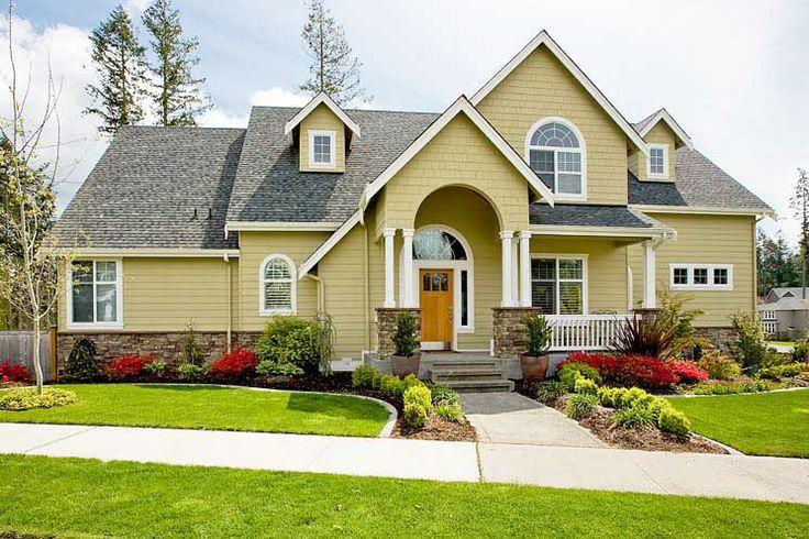 Exterior House Color Paint Colors Pinterest