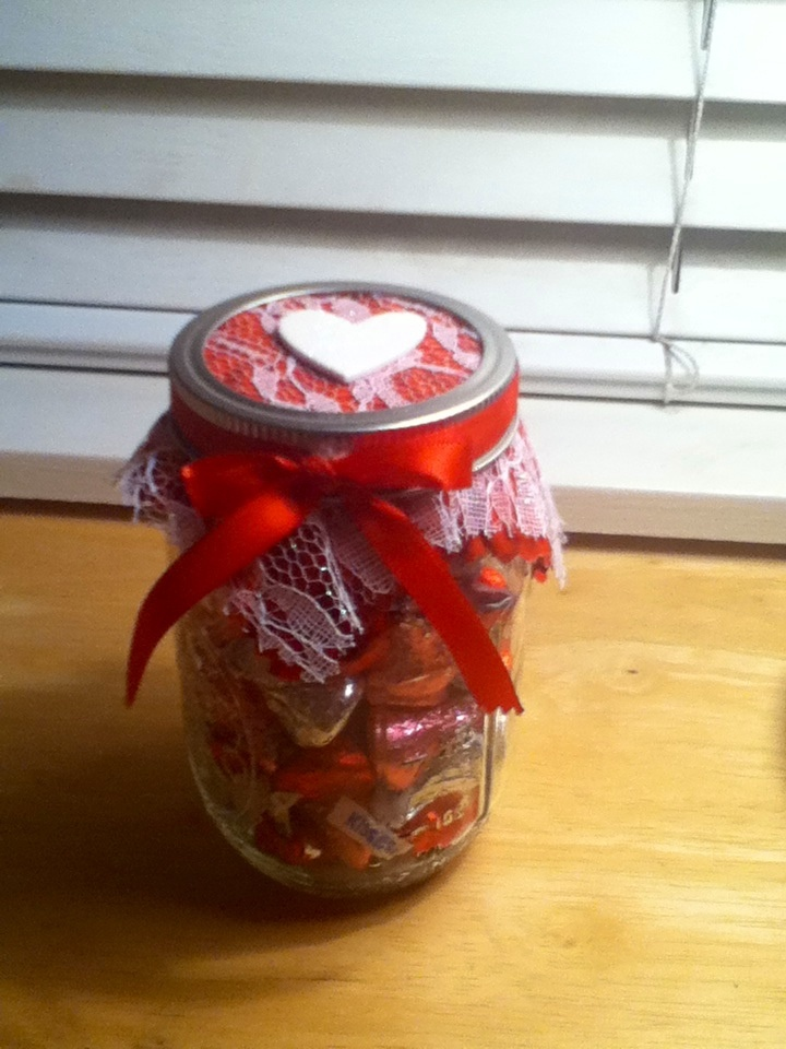 valentine gifts in mason jars
