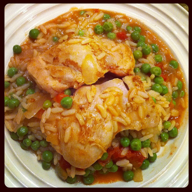 ... and Easy Chicken Paella | It's what's for dinner - meat/chicken