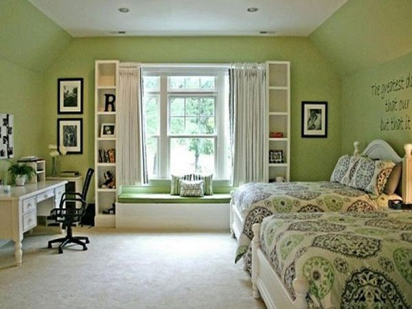 Sage green bedroom ideas there 39 s no place like home for Sage green room ideas