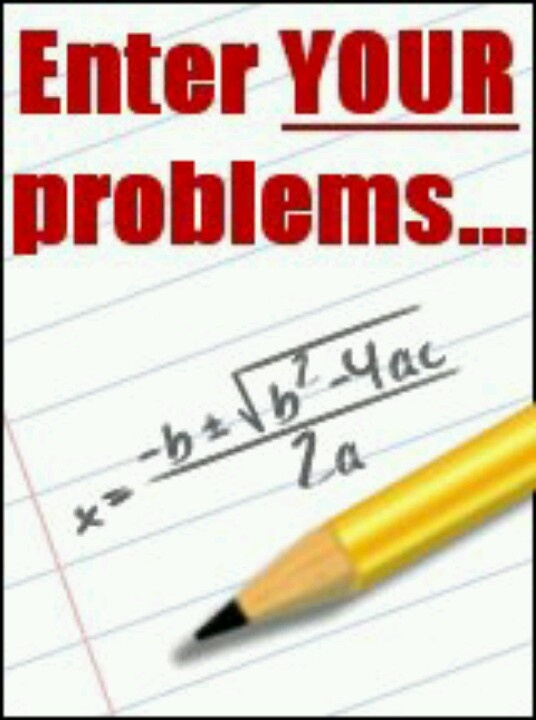 solved math problems