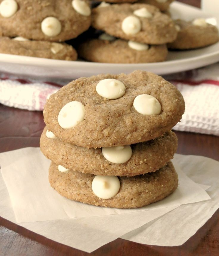 cinnamon toast crunch cookies; perfectly chewy and you really taste ...