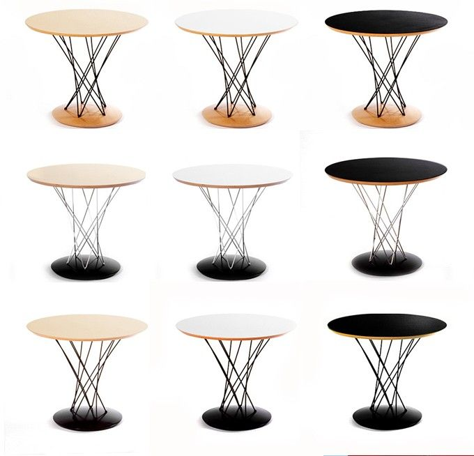 Noguchi Cyclone Dining Table Design Tables High Pinterest
