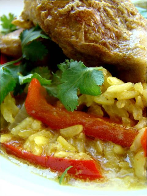 Coconut curry chicken and rice | Holidays~Food~DIY~Decor | Pinterest