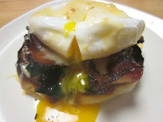 Inspired by Williams-Sonoma Lemony Eggs Florentine.