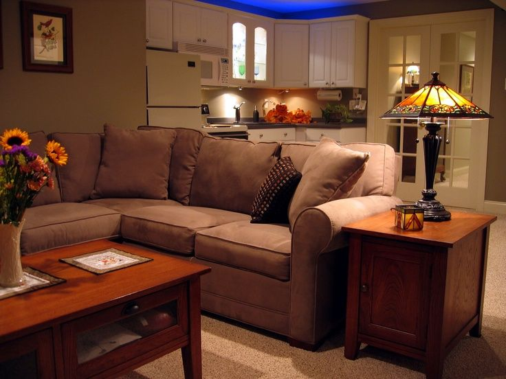 small basement with kitchen area basement restoration renovation