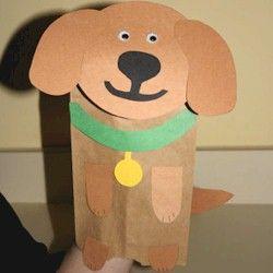 puppy puppet template