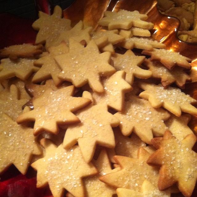 Maple leaf cookies   Be Thankful   Pinterest