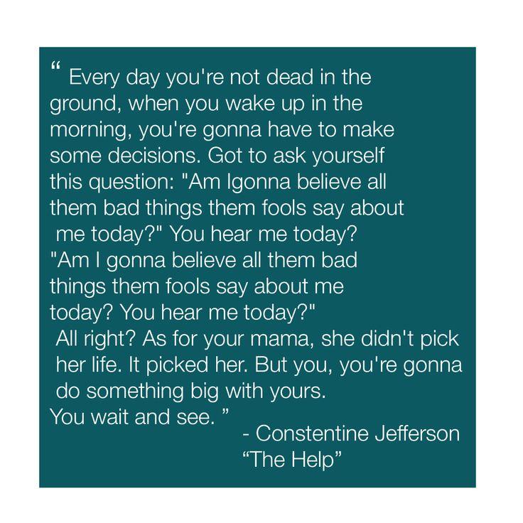Constantine Jefferson -The Help