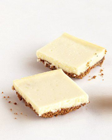 Ginger Cheesecake Bars. Check reviews