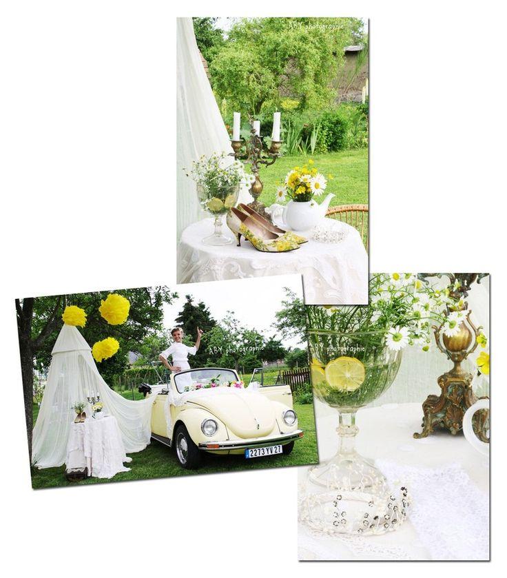 photobooth mariage rétro coccinelle voiture collection décoration ...