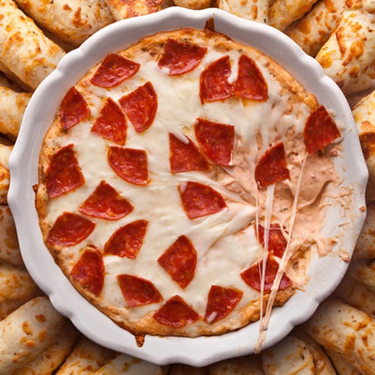 Pepperoni Pizza Dip Recipe Recipe | Recipes:-) Ashley Style lol | Pin ...