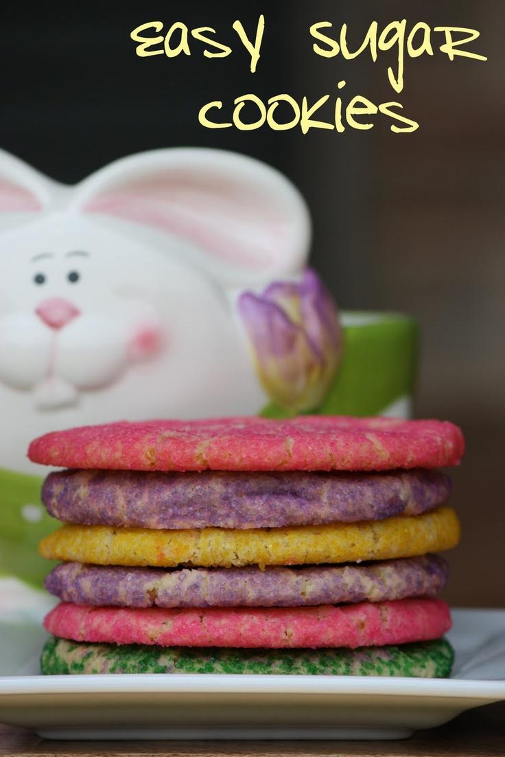 Easy Sugar Cookies | Sweets | Pinterest