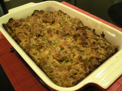 Mom's Turkey Stuffing Recipe — Dishmaps