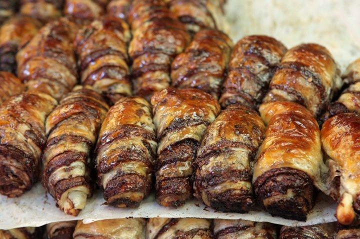 chocolate rugelach in Jerusalem | yumful food | Pinterest