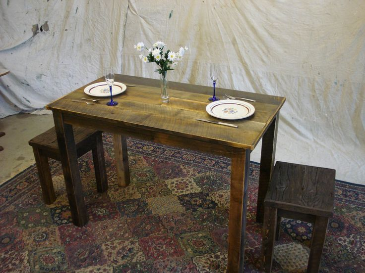 "Farmhouse Counter Height Table 60"" x 24"" x 36""H Custom Orde"