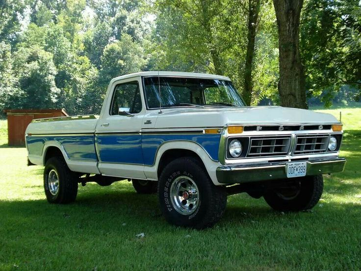 1977 ford f series pickup classic trucks pinterest. Black Bedroom Furniture Sets. Home Design Ideas