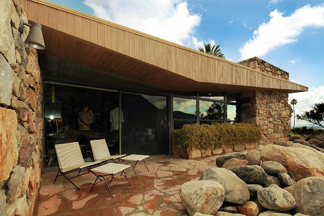 edris house palm springs architecture awe pinterest