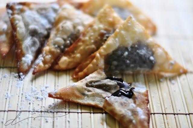Chocolate wontons | Recipes - Misc sweets | Pinterest