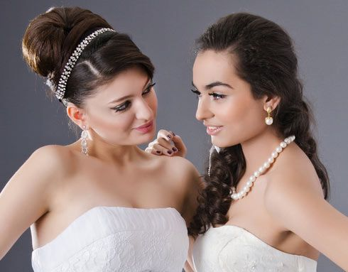 simple bridesmaid hairstyles : Simple Bridesmaid Hairstyles Wedding Hairstyles Pinterest