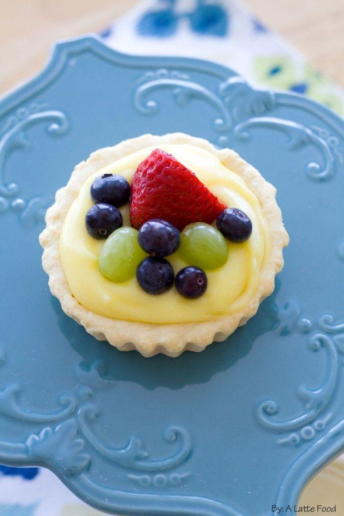 Sugar Cookie Fruit Tarts | Recipe