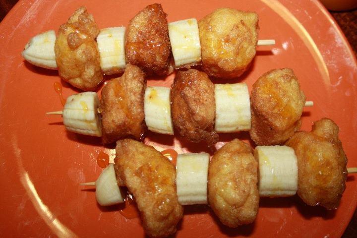French Toast Kiddies Kebabs | Fun Foodies | Pinterest