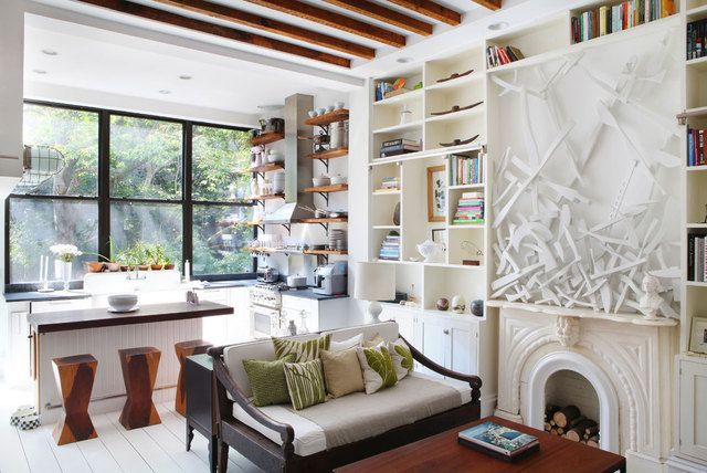 Lyndsay and Fitzhugh's Summer Cottage in the City House Tour