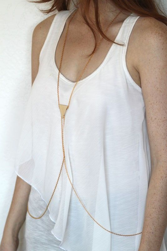 Body chain, that's a pretty neat idea for summer.